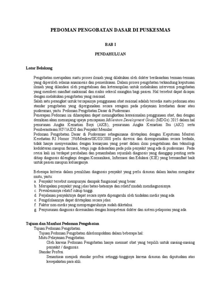 Pedoman Pengobatan Dasar Di Puskesmas Wwonosobo i 728c0ef640