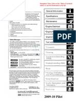 2009-2010 Honda Pilot Service Manual