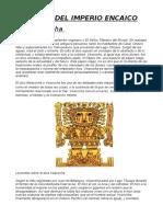 Dioses de La Epoca Inca y Preinca