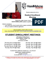 HMCP 2016-2017 Student Enrollment Meetings
