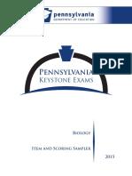 2015 bio item sampler