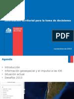 09 Ide Chile Informacion Territorial Para La Toma de Decisiones
