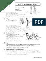 Unit 3 - Describing People (English i)