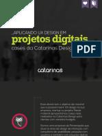 eBook Aplicando UXDesign ProjetosDigitais Catarinas
