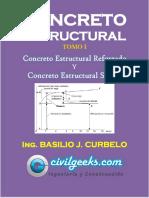 Concreto Estructural Basilio Curvelo Tomo i