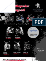 Nyhet - Peugeot Scooters mopeder på PJ:s Reservdelar & Däck