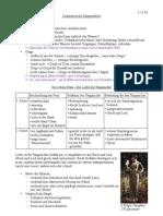 K12 Deutsch Mitschrift - J.v.Eichendorff, Aus dem Leben eines Taugenichts, Teil 2