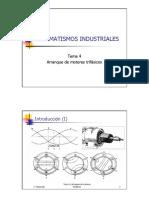 Arranque de Motores Trifásicos - Automatismos Industriales