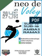 Afiche Torneo Septiembre 2015 Plaza