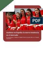 Azafatas en España