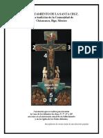Levantamiento de La Cruz en Chicavasco;Hgo.