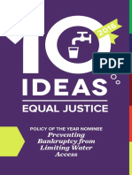 10 Ideas for Equal Justice, 2016