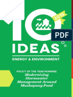 10 Ideas for Energy & Environment, 2016