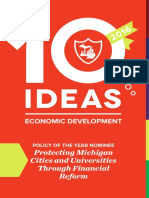 10 Ideas for Economic Development, 2016