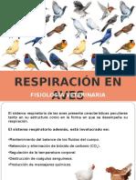 Respiración Aves, Fisiología Veterinaria