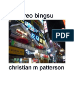 Oreo Bingsu