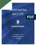 106537405 Cambium Networks Presentation