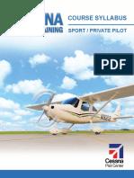 Cessna Training Syllabus