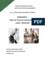 Trabajo Práctico Final del Taller de Técnicas Corporales I – Laban / Bartenieff