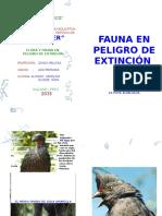 Animales y Plantas en Peligro de Extinción en El Perú