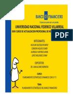 Planeamiento Estrategico BANCO FINANCIERO Ppt