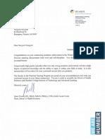 honour letter winter 2015