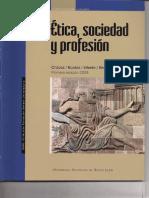 Libro de etica Sociedad y Profesion