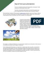 Estrategias de Trading de Forex para principiantes