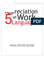 Appreciation at Work Facilitator Guide Excerpt
