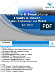 4G Mobile and Smart Phone Trends and Issues