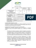 SYLLABUS                               Metodología de La Investigación Ciencia y Tecnología