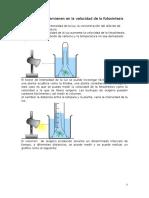 Factores Que Intervienen en La Velocidad de La Fotosíntesis