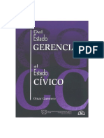 Estado Gerencial Estado Civico