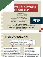Referat Hipertensi Sistolik Terisolasi