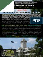 University PG Brochure