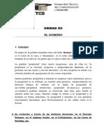 Derecho Civil Reales Unidad XII