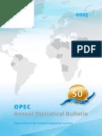OPEC Annual Statistical Bulletin_50th Edition_2015