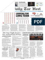 The Daily Tar Heel for April 12, 2016