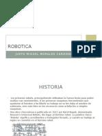 Historia, Tipos y Grados de Libertad de Un Robot PDF
