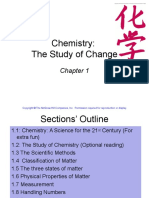 Chapter 1 Chemistry the Study of Change(2)