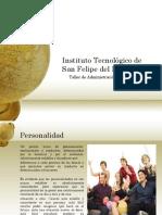 1.Personalidad, Comunicación y Reconocimiento