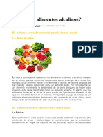 Consumes Alimentos Alcalinos? (Www.lavidasaludable.com).