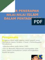 Dasar Penerapan Nilai Islam