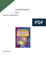 Soluciones a problemas de resnick II 5ta Edicion