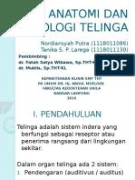 Anatomi Dan Fisiologi Telinga Fix(1)