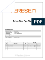VSN-CIV-S-09 Driven Steel Pipe Piles