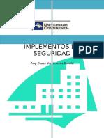 monografia ,implementos de seguridad