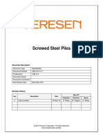 VSN CIV S 11 Screwed Steel Piles