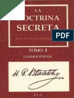 La Doctrina Secreta - Cosmogene - H. P. Blavatsky