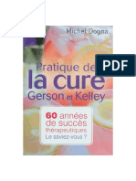 Dogna Michel Pratique Cure Gerson Kelley